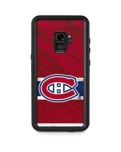 Montreal Canadiens Home Jersey Galaxy S9 Waterproof Case