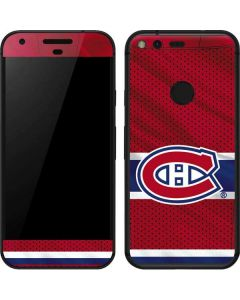 Montreal Canadiens Home Jersey Google Pixel Skin