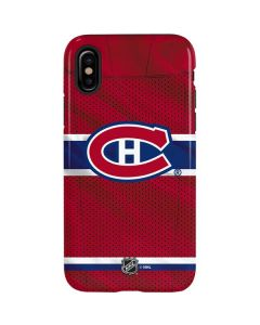 Montreal Canadiens Home Jersey iPhone XS Max Pro Case