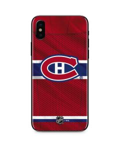 Montreal Canadiens Home Jersey iPhone XS Skin