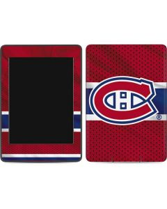 Montreal Canadiens Home Jersey Amazon Kindle Skin