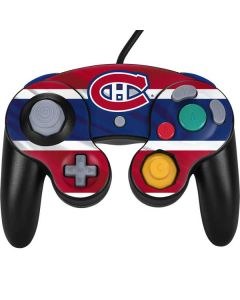 Montreal Canadiens Home Jersey Nintendo GameCube Controller Skin