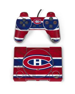 Montreal Canadiens Home Jersey PlayStation Classic Bundle Skin