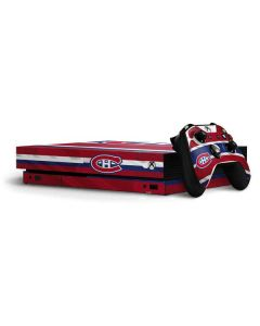 Montreal Canadiens Home Jersey Xbox One X Bundle Skin