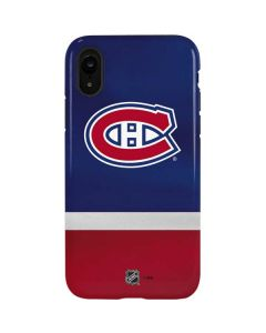 Montreal Canadiens Jersey iPhone XR Pro Case