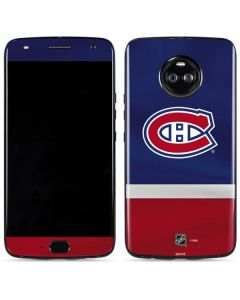 Montreal Canadiens Jersey Moto X4 Skin
