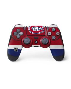 Montreal Canadiens Jersey PS4 Controller Skin