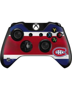 Montreal Canadiens Jersey Xbox One Controller Skin