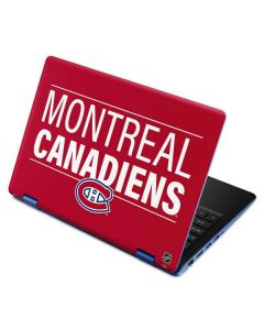 Montreal Canadiens Lineup Aspire R11 11.6in Skin