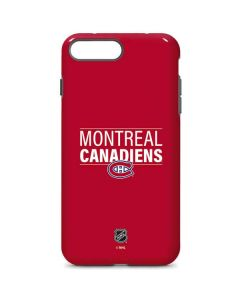 Montreal Canadiens Lineup iPhone 8 Plus Pro Case