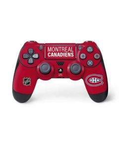 Montreal Canadiens Lineup PS4 Pro/Slim Controller Skin