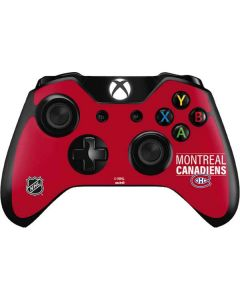 Montreal Canadiens Lineup Xbox One Controller Skin