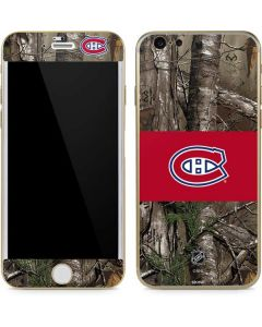 Montreal Canadiens Realtree Xtra Camo iPhone 6/6s Skin
