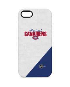 Montreal Canadiens Script iPhone 5/5s/SE Pro Case