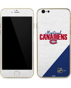 Montreal Canadiens Script iPhone 6/6s Skin