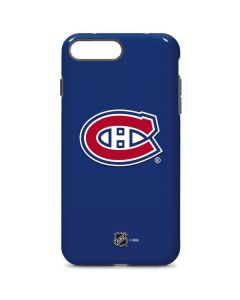 Montreal Canadiens Solid Background iPhone 7 Plus Pro Case