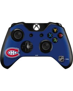 Montreal Canadiens Solid Background Xbox One Controller Skin