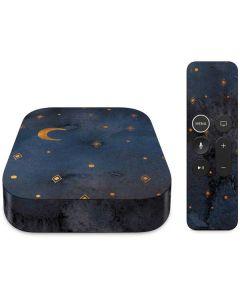 Moon and Stars Apple TV Skin