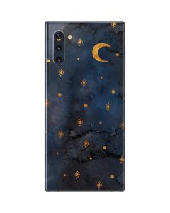 Moon and Stars Galaxy Note 10 Skin