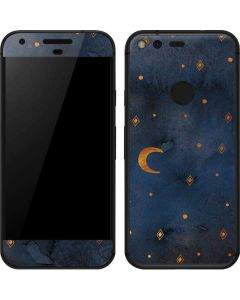 Moon and Stars Google Pixel Skin