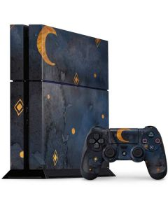 Moon and Stars PS4 Console and Controller Bundle Skin