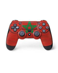 Morocco Flag Distressed PS4 Pro/Slim Controller Skin