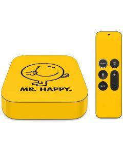 Mr Happy Apple TV Skin