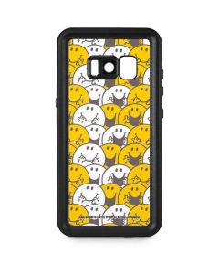 Mr Happy Collage Galaxy S8 Waterproof Case