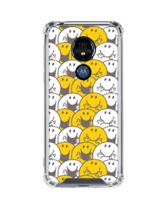 Mr Happy Collage Moto G7 Power Clear Case