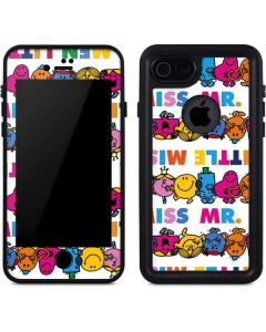 Mr Men Little Miss Characters Bold iPhone 7 Waterproof Case