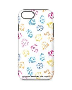 Mr Men Little Miss Characters Outline iPhone 7 Pro Case
