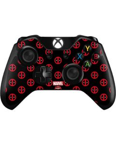 Deadpool Logo Print Xbox One Controller Skin