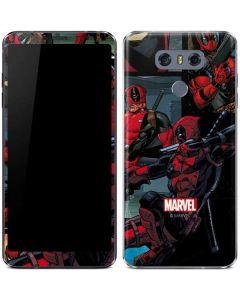 Deadpool Comic LG G6 Skin