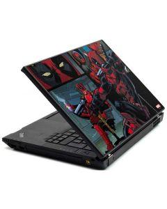 Deadpool Comic Lenovo T420 Skin