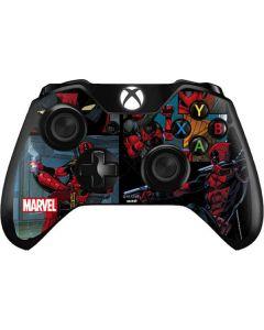 Deadpool Comic Xbox One Controller Skin