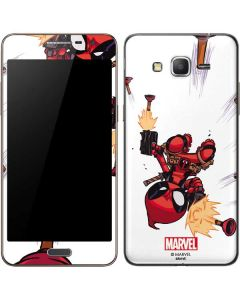 Deadpool Baby Fire Galaxy Grand Prime Skin
