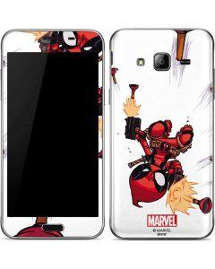 Deadpool Baby Fire Galaxy J3 Skin