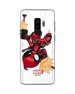 Deadpool Baby Fire Galaxy S9 Plus Skin