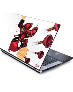 Deadpool Baby Fire Generic Laptop Skin