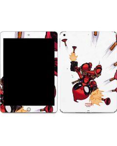 Deadpool Baby Fire Apple iPad Skin