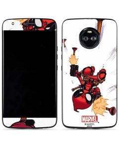 Deadpool Baby Fire Moto X4 Skin