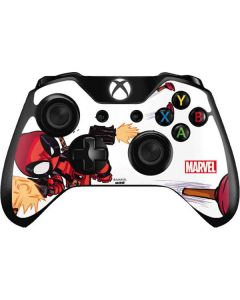 Deadpool Baby Fire Xbox One Controller Skin
