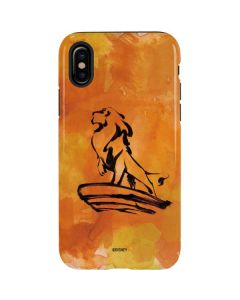 Mufasa Water Color iPhone X Pro Case