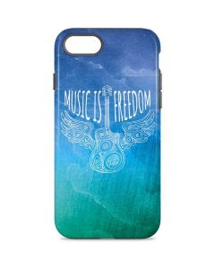 Music Is Freedom iPhone 8 Pro Case