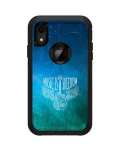 Music Is Freedom Otterbox Defender iPhone Skin