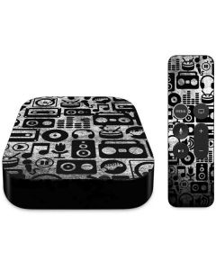 Music Pattern Apple TV Skin