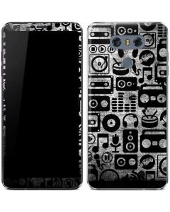 Music Pattern LG G6 Skin