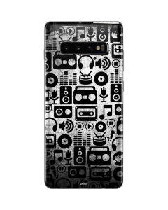 Music Pattern Galaxy S10 Plus Skin