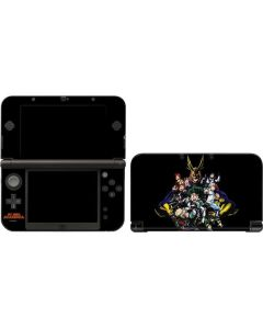 My Hero Academia Main Poster 3DS XL 2015 Skin