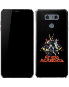 My Hero Academia Main Poster LG G6 Skin